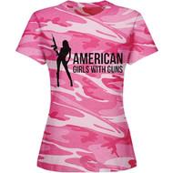 Women's Camo Tee (Pink)
