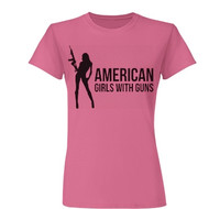 Women's AGG  Fitted Tee (Pink) - ON SALE!