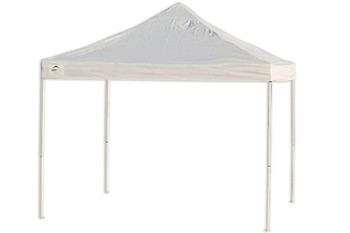 10x10 Straight Leg Pop-Up Canopy Truss Top White
