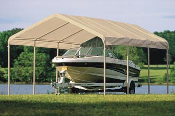... 12x20 Canopy 2  8-Leg Frame White Cover & 12x20 White Canopy Enclosure Kit Fits 2