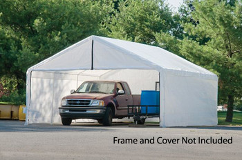 18x20 White Canopy Enclosure Kit