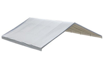 "30x30 White Canopy Replacement FR Rated Cover, Fits 2-3/8"" Frame"