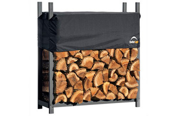 4 ft. Ultra Duty Firewood Rack with Cover