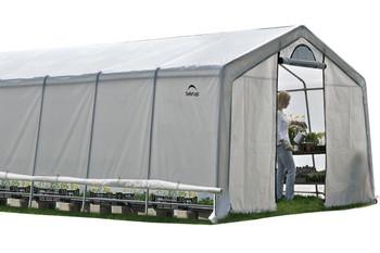 12x20x8 (6) Rib Peak Style Grow It Greenhouse-in-a-Box