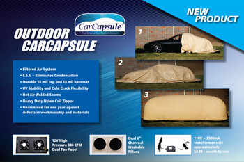 Car Capsule 16' Outdoor