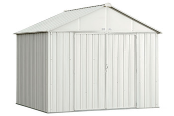 EZEE Shed® , 10x8, Extra High Gable, 72 in walls, vents, Cream
