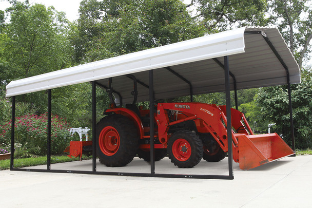 12x20x7 Arrow Metal Carport