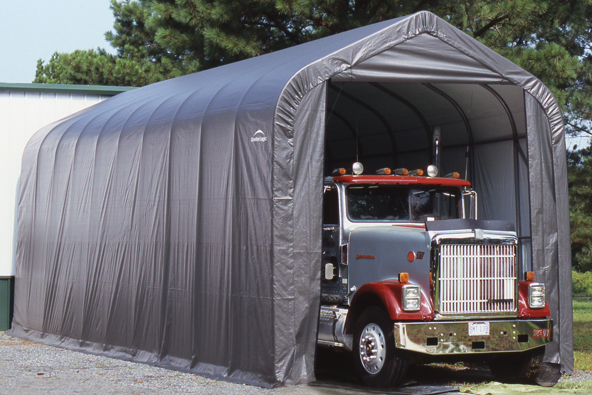 14 Wide X 16 High Peak Shelters Of New England
