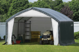 12x15x9 Accelaframe Shelter Grey