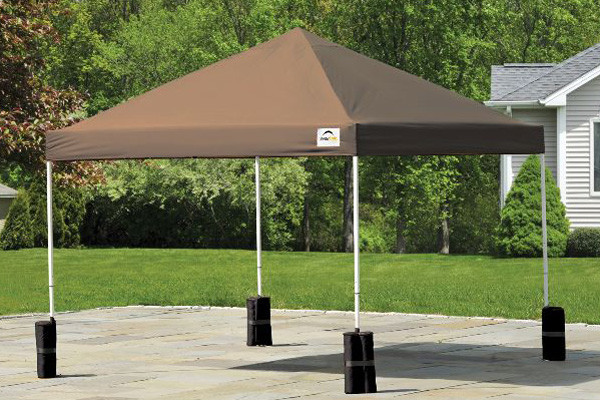 Economy Enclosed Carport : Canopy anchor bag pack shelters of new england