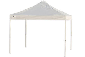10x10 Straight Leg Pop-Up Canopy Truss Top White