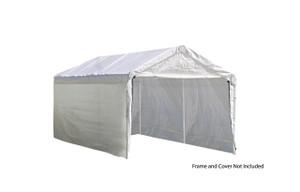 "10x20 White Canopy Enclosure Kit, Fits 2"" Frame"