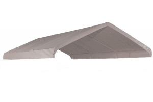 "10x20 White Canopy Replacement Cover, Fits 1-3/8"" Frame"