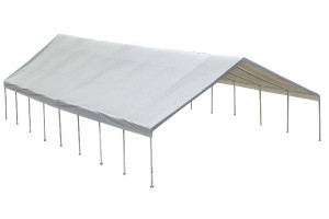 "30x50 Canopy 2-3/8"" Frame White FR Rated Cover"