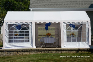 10x20 Party Tent Enclosure Kit & Windows