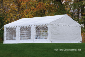 20x20 Party Tent Enclosure Kit & Windows