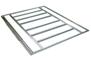 Admiral & Viking Floor Frame Kit 8x5 (swing doors)