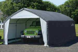 12x20x9 Accelaframe Shelter Grey