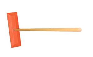 "18"" Snow Rake/ 48"" Wood Handle"