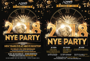 New Year's Eve at Above Rooftop