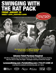 The Rat Pack -  Friday, January 26th 2018