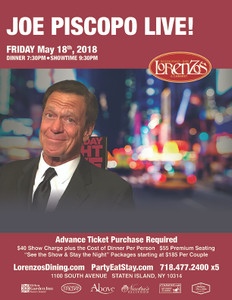 Joe Piscopo - Friday, May 18th 2018