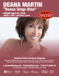 Deana Martin - Friday, April 20th 2018