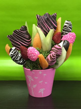 Incredibly Pink Fruit Bouquet