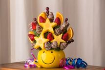 Smiles for Miles Fruit Arrangement