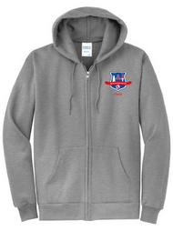 PE Full Zip Hoodie w/Logo