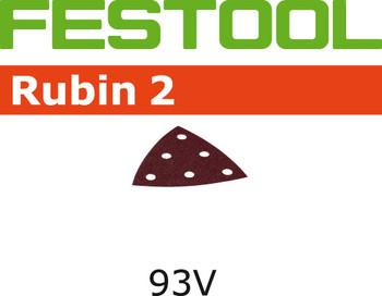 Festool Rubin 2 | 93 Delta | 220 Grit | Pack of 50 (499168)