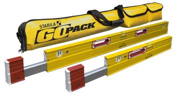 Stabila 4' & 2' XTL Plate Level SET - GoPack (79248)