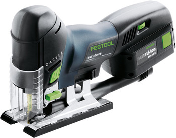 Festool Carvex PSC 420 EB Li18v PLUS Barrel-Grip Cordless Jigsaw (574716)