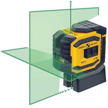 Stabila LAX300G Green Beam ProLiner Cross Line Laser (03185)