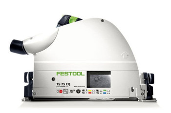 Festool TS 75 EQ-F-Plus Plunge Cut Circular Saw w/o Guide Rail (575389)