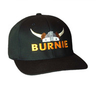 Burnie - Black Flexfit Cap