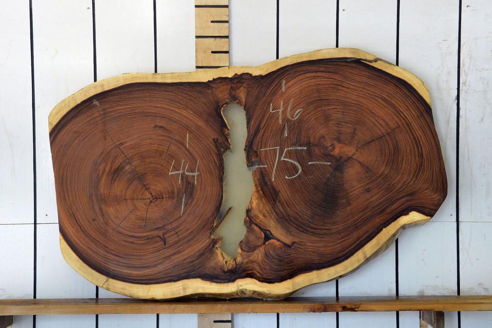 Guanacaste (Parota) Live Edge Wood Slab - H15044 - 75x45x3