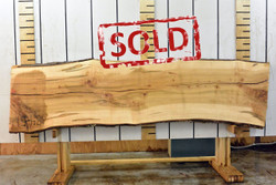 Ambrosia Live Edge Wood Slab - 120x30x2 - Side 2 - sold