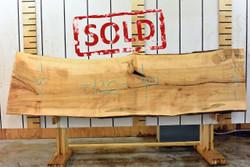 Ambrosia Live Edge Wood Slab - AM001 - 120x30x2 - side 1 - sold