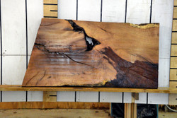 Texas Mesquite Live Edge Wood Slab - TM420 - 60x32x2.25 - side 2