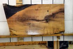Texas Mesquite Live Edge Wood Slab - TM423 - 62x32x2.125 - side 2