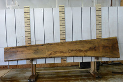French White Oak Live Edge Wood Slab - FWO001- 144x21x1.125 - Side 2
