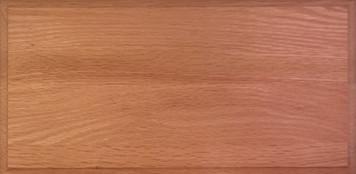 SF 34 Slab Drawer Front - Red Oak
