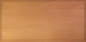 Slab Drawer Front - Solid Wood - Hard Maple