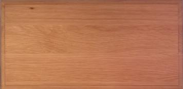 Slab Drawer Front - Solid Wood - White Oak
