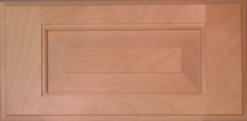 DTDF 1058HZ - Drawer Front Solid Wood - White Birch