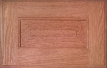 DTDF 1058HZF - Drawer Front Solid Wood - Red Oak