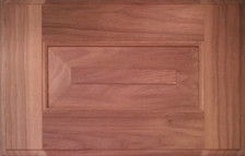 DTDF 1058HZF - Drawer Front Solid Wood - Walnut