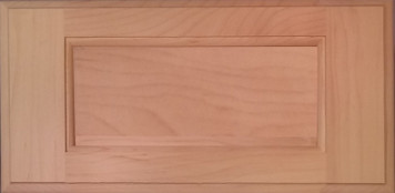 DTDF 1038HZ - Drawer Front - Hard Maple