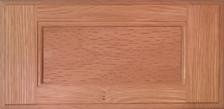 DTDF 1038HZ - Drawer Front Solid Wood - Red Oak